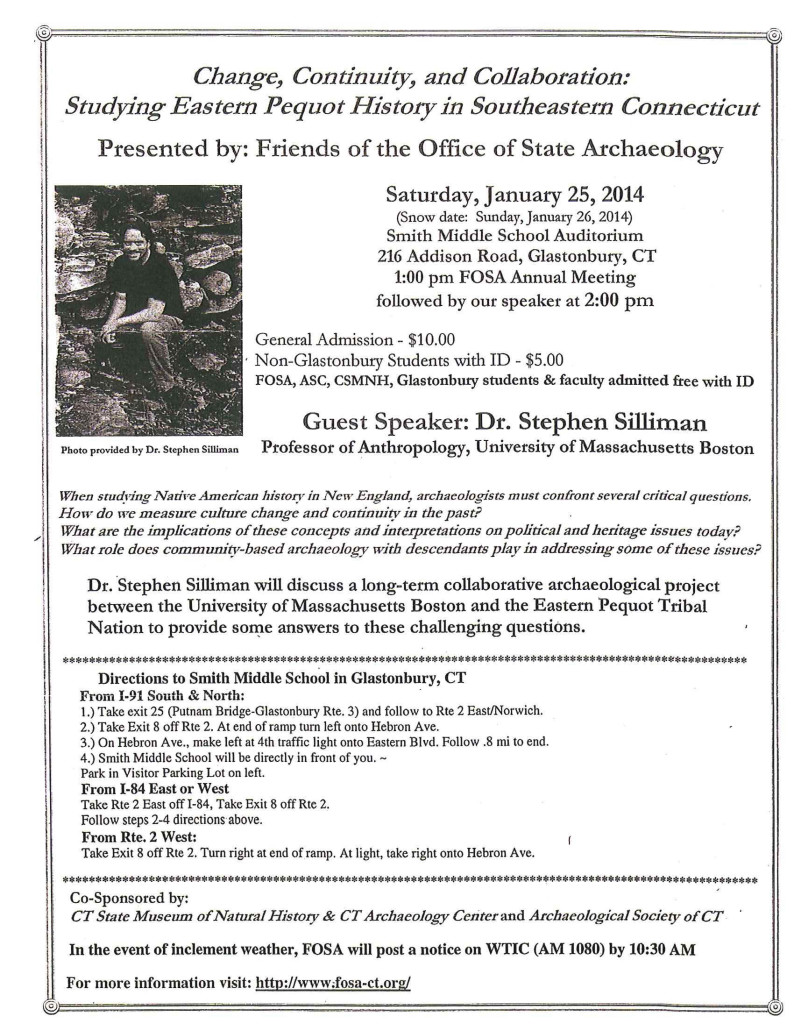 Friends of State Archaeologist Annual Meeting