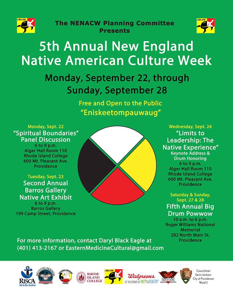 Flyer courtesy of Lawrence E. Wilson Executive Director, Economic and Leadership Development Rhode Island College