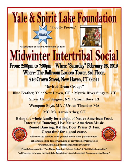 Yale and Spirit Late Foundation Midwinter Intertribal Social
