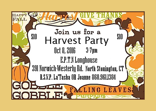 Harvest Party Flier 2016
